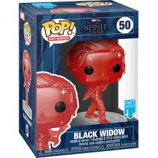Головотряс The Infinity Saga - POP! Art Series - Black Widow (9.5 см)