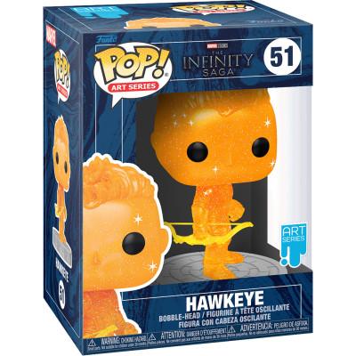 Фигурка Funko Головотряс The Infinity Saga - POP! Art Series - Hawkeye 57615 (9.5 см)
