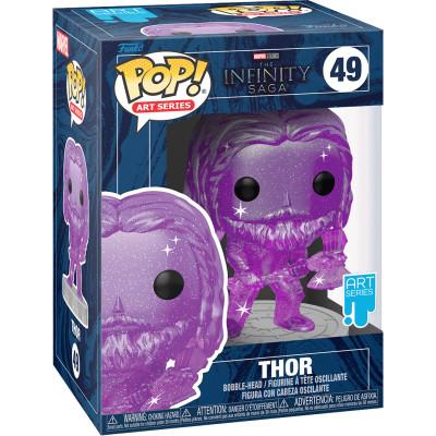 Фигурка Funko Головотряс The Infinity Saga - POP! Art Series - Thor 57618 (9.5 см)