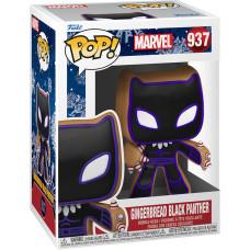 Головотряс Marvel Comics - POP! - Gingerbread Black Panther (9.5 см)