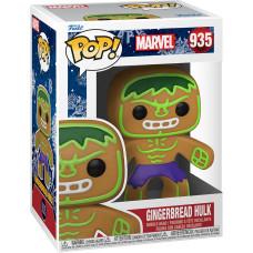 Головотряс Marvel Comics - POP! - Gingerbread Hulk (9.5 см)