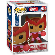 Головотряс Marvel Comics - POP! - Gingerbread Scarlet Witch (9.5 см)