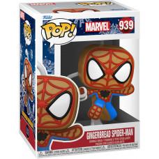 Головотряс Marvel Comics - POP! - Gingerbread Spider Man (9.5 см)