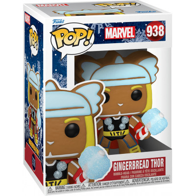 Фигурка Funko Головотряс Marvel Comics - POP! - Gingerbread Thor 50663 (9.5 см)