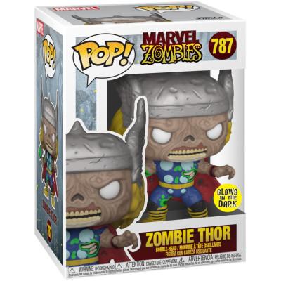 Фигурка Funko Головотряс Marvel Zombies - POP! - Zombie Thor (Glows in the Dark) (Exc) 55646 (9.5 см)