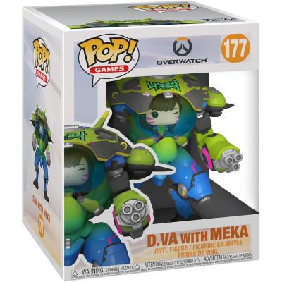 Фигурка Funko Overwatch - POP! Games - D.Va with Meka (Nano Cola) (Exc) 57522 (15 см)