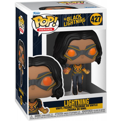 Фигурка Funko Black Lightning - POP! Heroes - Lightning 57590 (9.5 см)