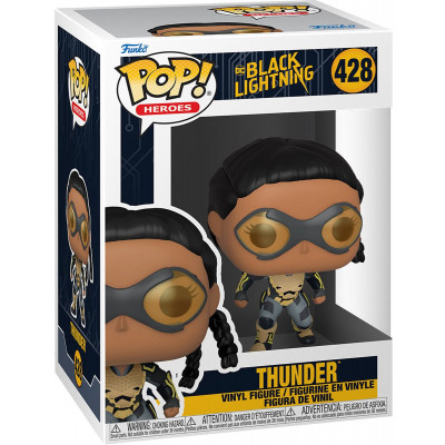 Фигурка Funko Black Lightning - POP! Heroes - Thunder 57591 (9.5 см)