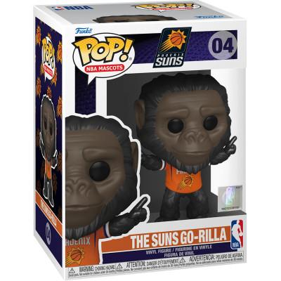 Фигурка Funko Phoenix Suns - POP! NBA Mascots - The Suns Go-Rilla 52164 (9.5 см)
