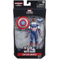 Фигурка The Falcon & Winter Soldier - Legends Series - Captain America (Sam Wilson) (15 см)