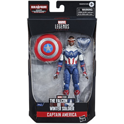 Фигурка Hasbro The Falcon & Winter Soldier - Legends Series - Captain America (Sam Wilson) F0328 (15 см)