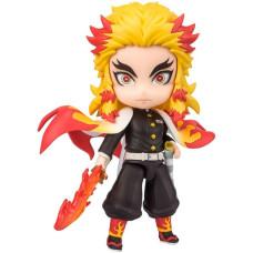 Фигурка Demon Slayer: Kimetsu no Yaiba - Figuarts Mini - Kyojuro Rengoku (Flame Breathing Ver.) (9 см)