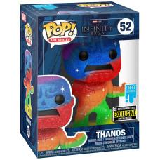 Головотряс The Infinity Saga - POP! Art Series - Thanos (Rainbow/Metallic) (with Premium POP! Protector) (Exc) (9.5 см)