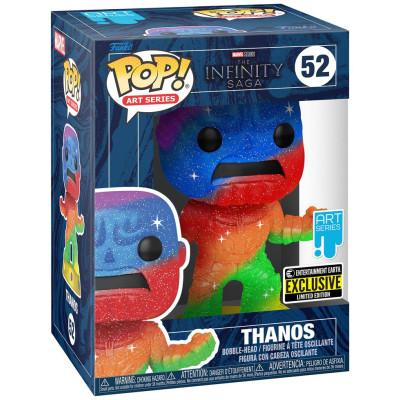 Фигурка Funko Головотряс The Infinity Saga - POP! Art Series - Thanos (Rainbow/Metallic) (with Premium POP! Protector) (Exc) 58245 (9.5 см)