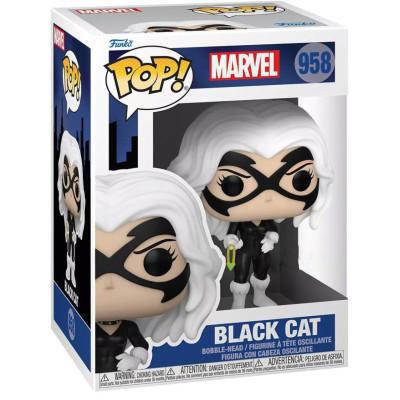 Фигурка Funko Головотряс Spider-Man: The Animated Series - POP! - Black Cat (Exc) 58863 (9.5 см)