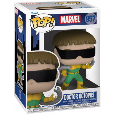 Фигурка Funko Головотряс Spider-Man: The Animated Series - POP! - Doctor Octopus (Exc) 58865 (9.5 см)