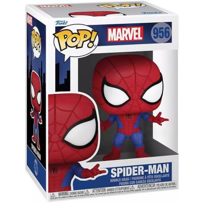 Фигурка Funko Головотряс Spider-Man: The Animated Series - POP! - Spider-Man (Exc) 58871 (9.5 см)