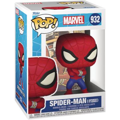 Фигурка Funko Головотряс Marvel Comics - POP! - Spider-Man (Japanese TV Series) 58250 (9.5 см)