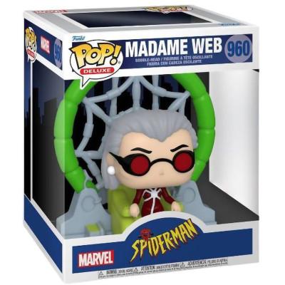 Фигурка Funko Головотряс Spider-Man: The Animated Series - POP! Deluxe - Madame Web (Exc) 58869 (15 см)