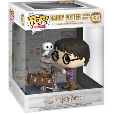 Фигурка Harry Potter 20th Anniversary - POP! Deluxe - Harry Potter Pushing Trolley (9.5 см)