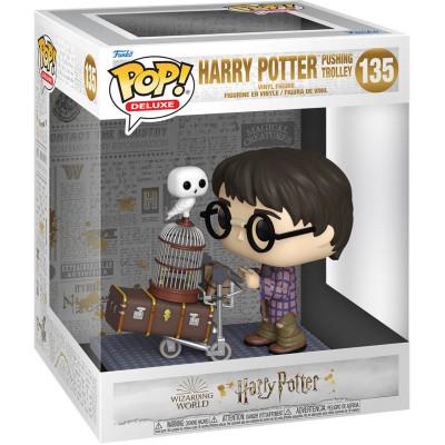 Фигурка Funko Harry Potter 20th Anniversary - POP! Deluxe - Harry Potter Pushing Trolley 57360 (9.5 см)