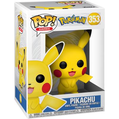 Фигурка Funko Pokemon - POP! Games - Pikachu 31528 (9.5 см)