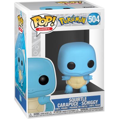 Фигурка Funko Pokemon - POP! Games - Squirtle 50402 (9.5 см)