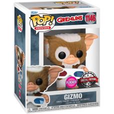 Фигурка Gremlins - POP! Movies - Gizmo (Flocked) (Exc) (9.5 см)