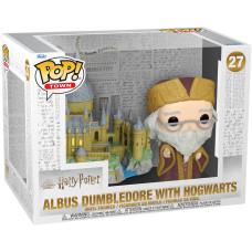 Набор фигурок Harry Potter 20th Anniversary - POP! Town - Albus Dumbledore with Hogwarts (9.5 см)