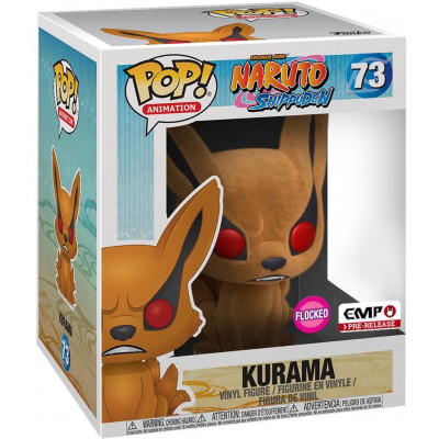 Фигурка Funko Naruto Shippuden - POP! Animation - Kurama (Flocked) (Exc) 36338 (15 см)