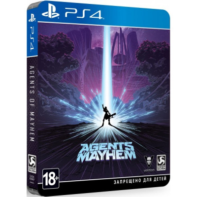 Agents of Mayhem. Steelbook Edition [PS4, русские субтитры]