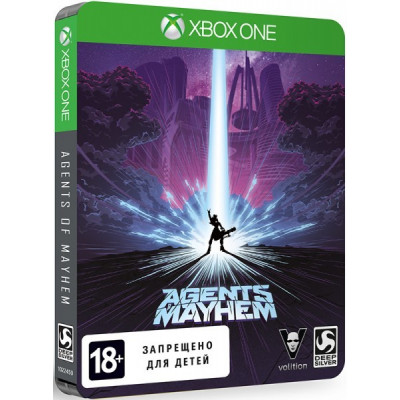 Agents of Mayhem. Steelbook Edition [Xbox One, русские субтитры]