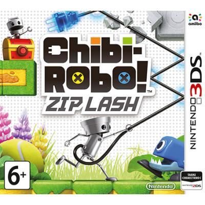Chibi-Robo! Zip Lash [3DS, английская версия]