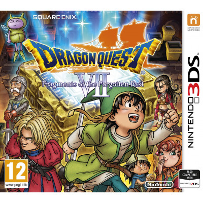 Dragon Quest VII: Fragments of Forgotten Past [3DS, английская версия]