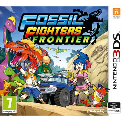 Fossil Fighters Frontier [3DS, английская версия]