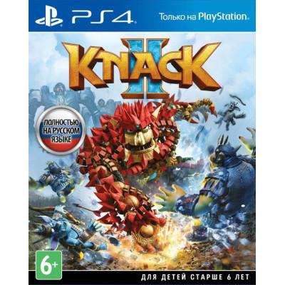 Игра для PlayStation 4 Knack 2 (русская версия)