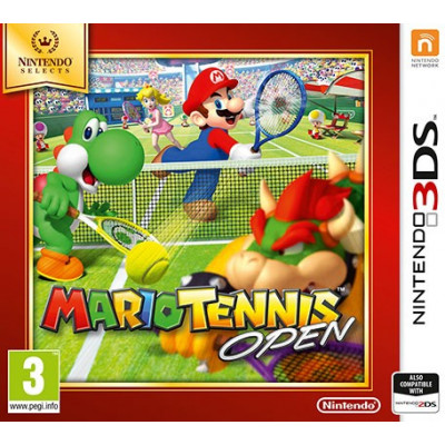 Mario Tennis Open (Nintendo Selects) [3DS, английская версия]