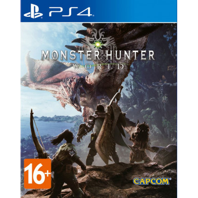 Игра для PlayStation 4 Monster Hunter: World
