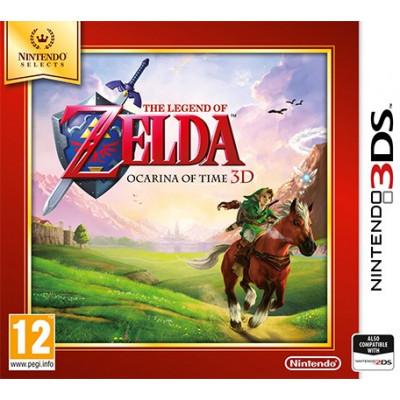 The Legend of Zelda: Ocarina of Time 3D (Nintendo Selects) [3DS, английская версия]