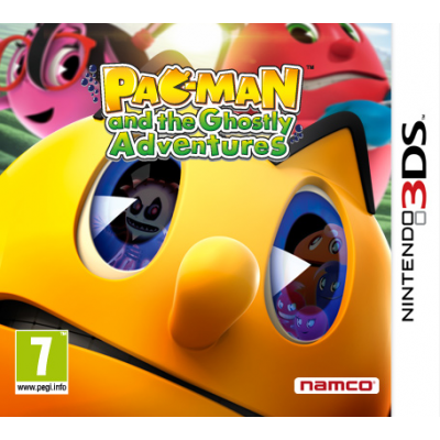 Pac-Man & the Ghostly Adventures [3DS, английская версия]