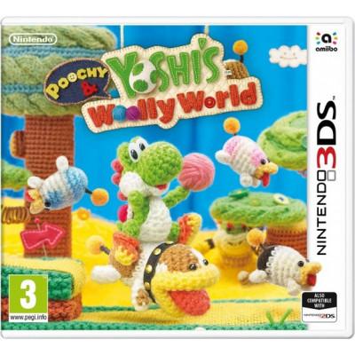 Poochy & Yoshi's Woolly World [3DS, английская версия]