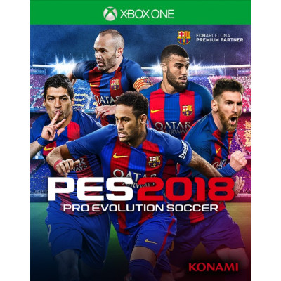 Pro Evolution Soccer 2018 [Xbox One, русская версия]