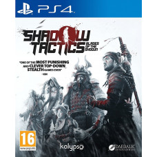Shadow Tactics: Blades of the Shogun [PS4, русские субтитры]