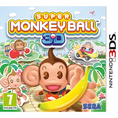 Super Monkey Ball 3D [3DS, английская версия]