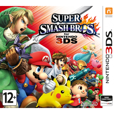 Игра для Nintendo 3DS Super Smash Bros (русская версия)
