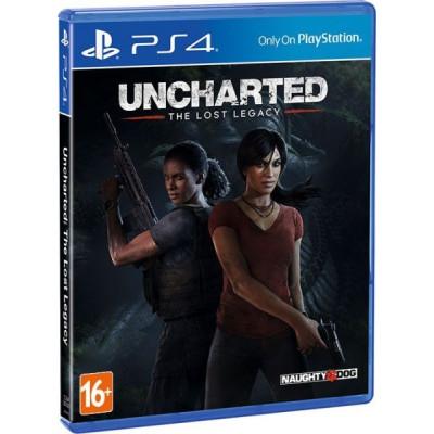 Uncharted: Утраченное наследие [PS4, русская версия]