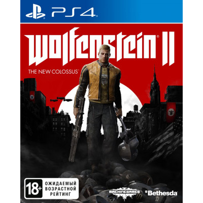 Wolfenstein II: The New Colossus [PS4, русская версия]