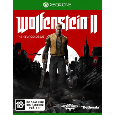 Игра для Xbox One Wolfenstein II: The New Colossus (русская версия)