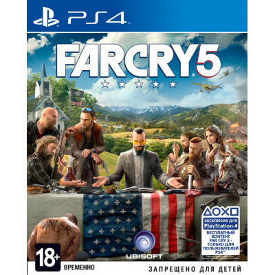 Игра для PlayStation 4 Far Cry 5 (русская версия)