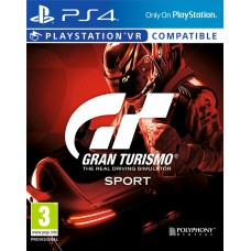 Gran Turismo Sport (поддержка VR) [PS4, русская версия]